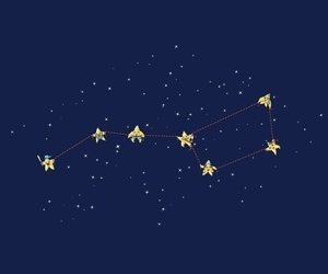 big dipper, constellations, and family image