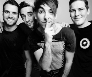 all time low, alex gaskarth, and zack merrick image