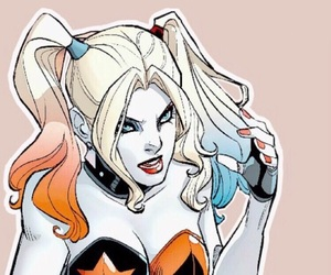 harley quinn and DC image