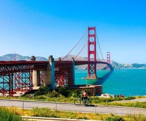 california, san francisco, and golden gate image