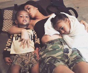 family, north west, and kim kardashian west image