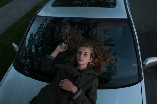 girl, car, and grunge image