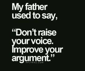 quotes, father, and voice image