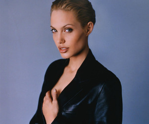 Angelina Jolie, glamour, and fashion image