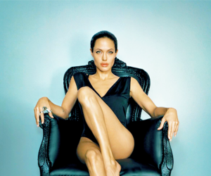 Angelina Jolie, glamour, and girl image