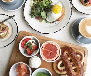 avocado, bagel, and breakfast image