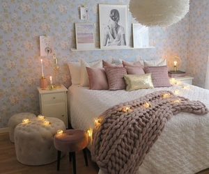bedroom, design, and goals image