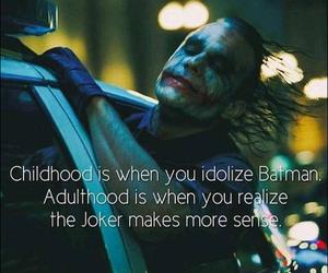 batman, joker, and quotes image