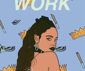 rihanna, work, and wallpaper image