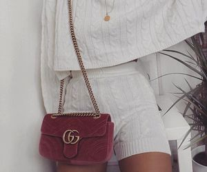 fashion, white, and gucci image
