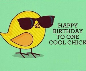 adorable, birthday, and Chick image
