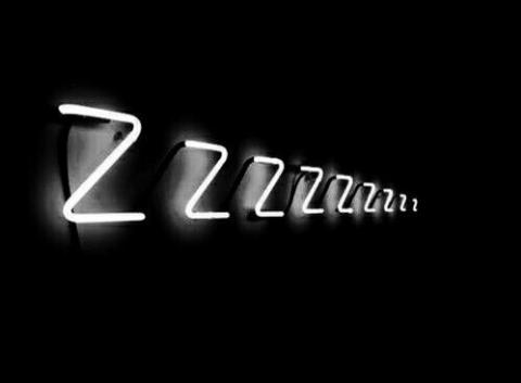sleep, black and white, and dark image