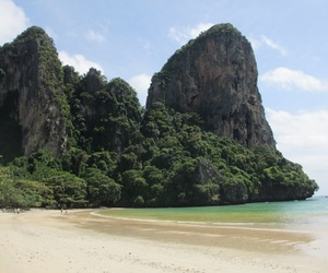 beach, sea, and thailand image