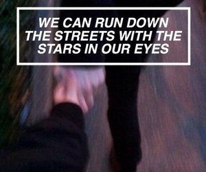 quotes, grunge, and stars image
