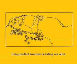 summer, yellow, and perfect image