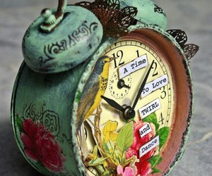 clock, time, and vintage image
