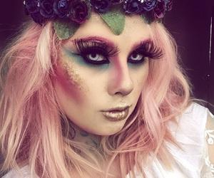 fairy, Halloween, and makeup image