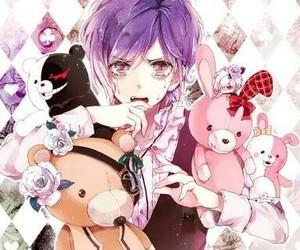 anime, teddy, and danganronpa image