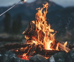 cold, fire, and marshmallow image