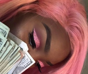makeup, money, and mood image