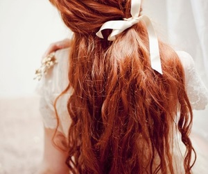 hair, red hair, and redhead image