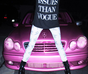 vogue and pink image