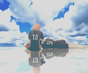 haikyuu, anime, and boy image