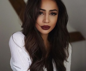 brunette, makeup, and photography inspiration image