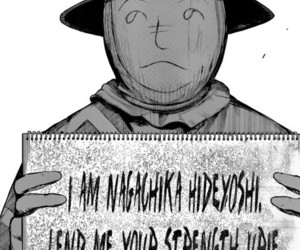 hide, manga, and spoilers image