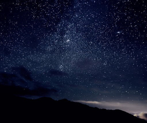clouds, stars, and beautiful image