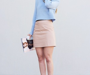 fashion, pastels, and outfit image