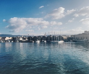 crete, travel, and view image
