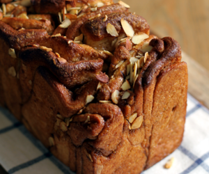 almond, bread, and brown sugar image