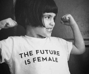 female, future, and feminism image