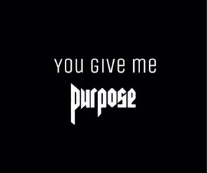 justin bieber and purpose image