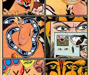 comics and retro image