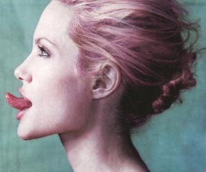 Angelina Jolie, tongue, and sexy image