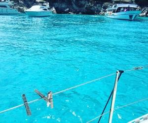 beauty, Greece, and paradise image