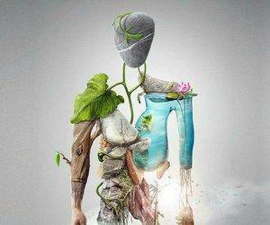 body, natura, and human image