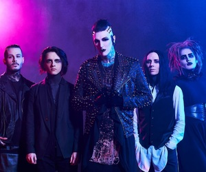 motionless in white, ricky horror, and chris motionless image