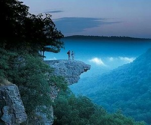adventure, sky blue, and mountain image