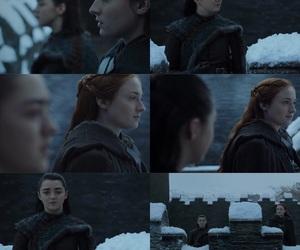 season finale, got, and arya stark image