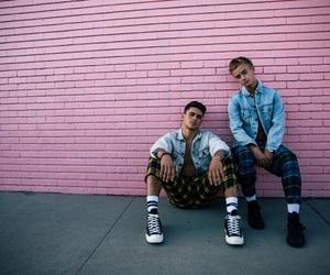 boys, jackjohnson, and pink image