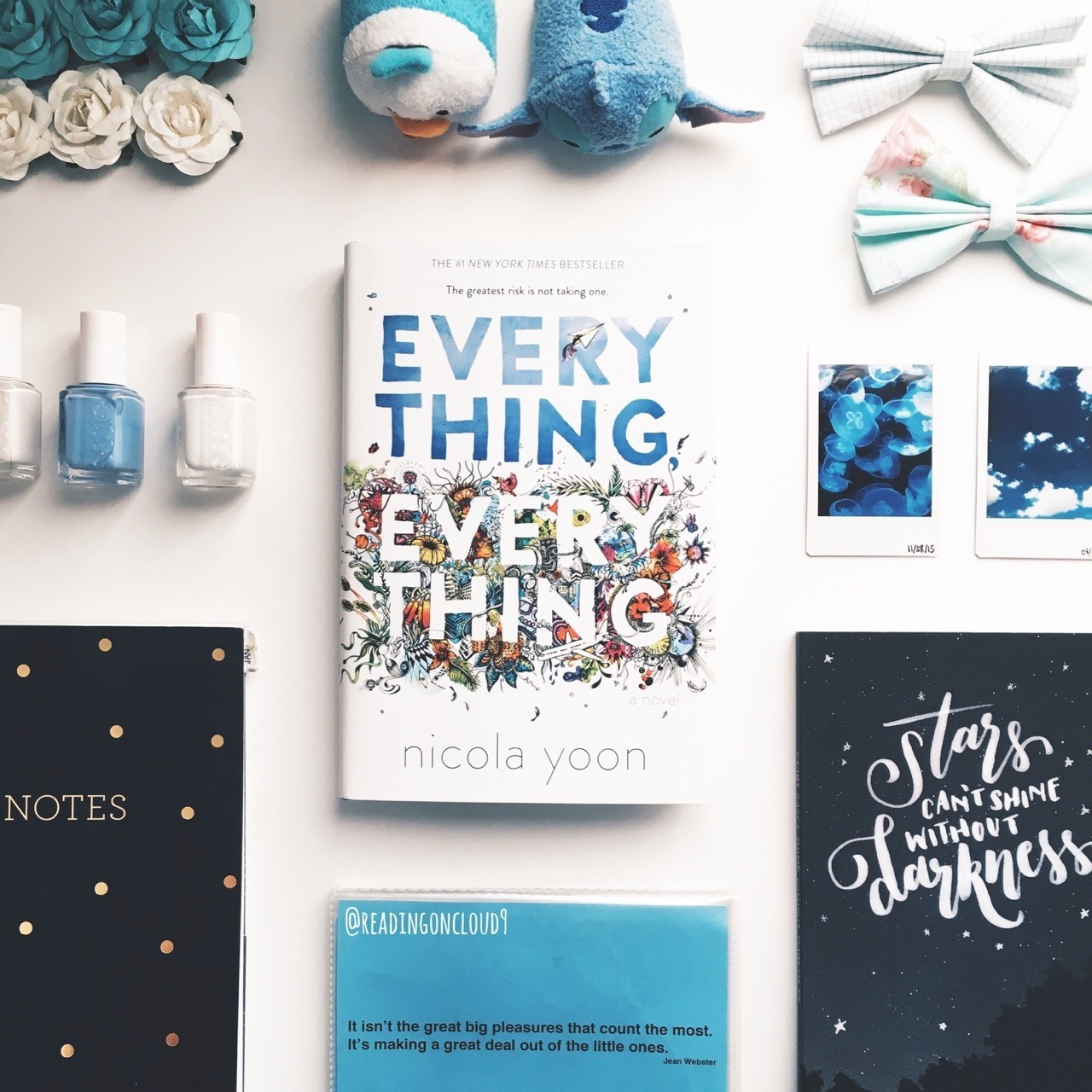 book, everything everything, and reading image