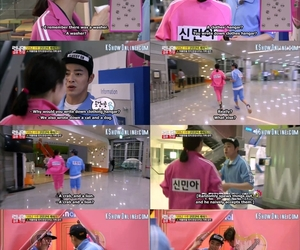 funny, KOREANS, and variety show image