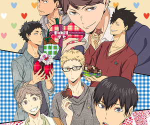 anime and haikyu image