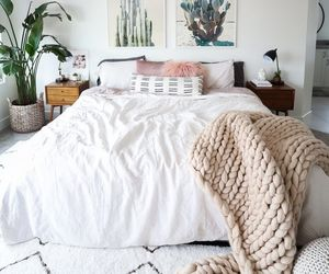 bedroom, home, and decor image