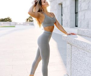 fashion, workout, and whitney simmons image