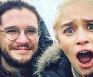 couple, funny, and jon snow image