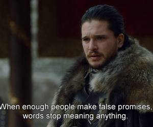 quotes, game of thrones, and jon snow image